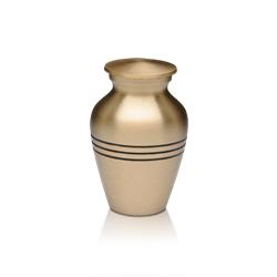 Urna Jarro Clássico modelo dourado R$ 210,00