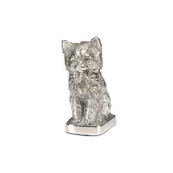 Urna Escultura Felino em alumínio R$ 240,00
